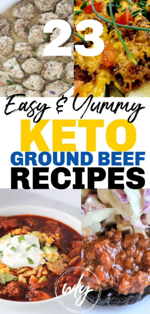 keto low carb ground beef meals