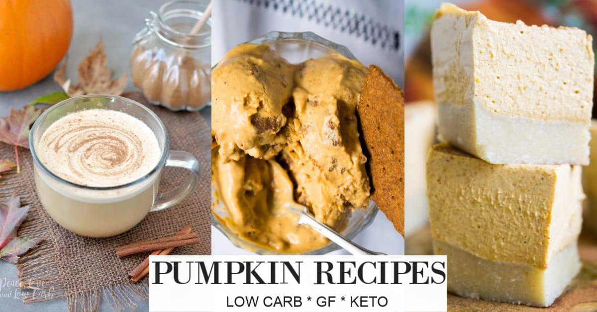 Keto Pumpkin recipes
