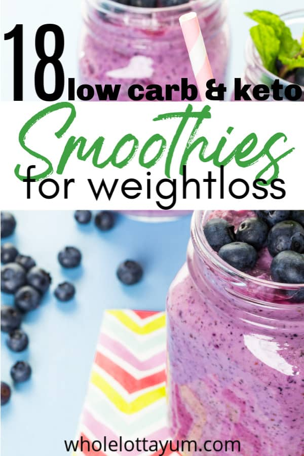 keto smoothies for weightloss