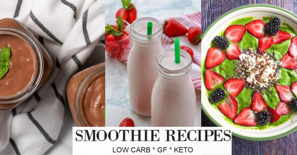 18 Low Carb Smoothies For Breakfast Whole Lotta Yum
