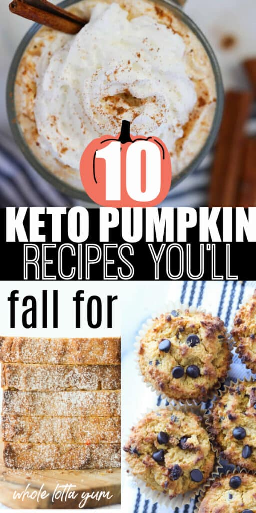keto pumpkin recipes pinterest