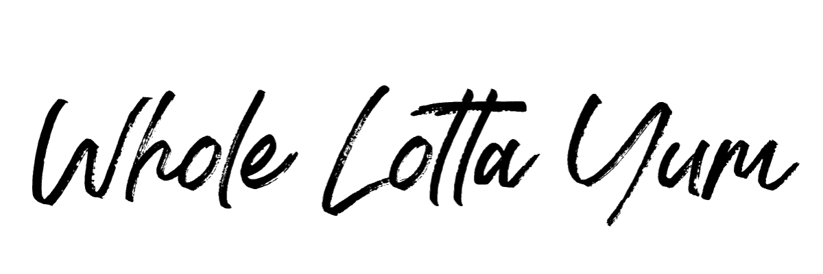 Whole Lotta Yum  logo