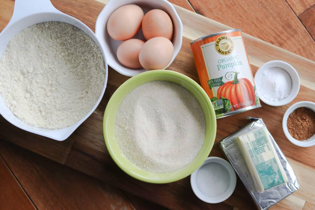 low carb pumpkin bread ingredients