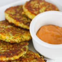 Fried Broccoli Cakes ( Gluten Free Keto Broccoli Fritters)
