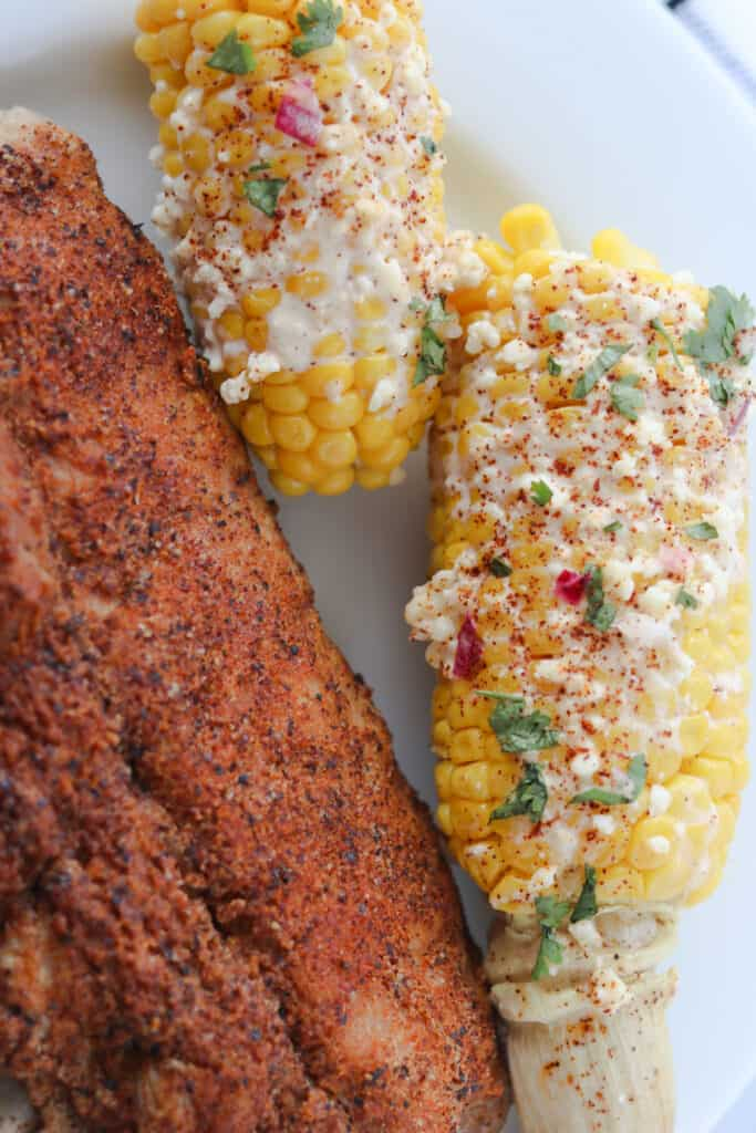 instant pot mexican street corn and ribs