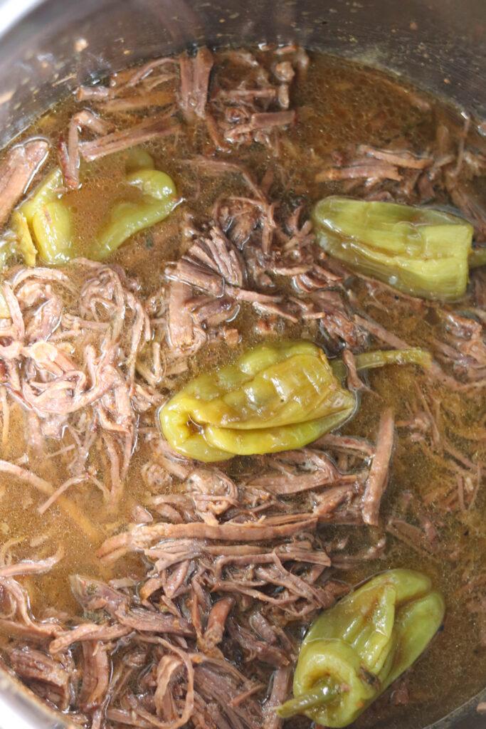 mississippi roast in instant pot