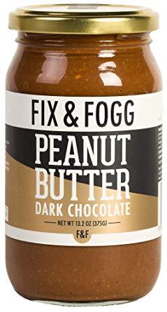 Gourmet Dark Chocolate Peanut Butter. Handmade in New Zealand from Fix & Fogg with 62% Dark Chocolate. Keto Friendly. Non-GMO. Superior Tasting Chocolate Spread. Low in Sugar (13.2 oz)