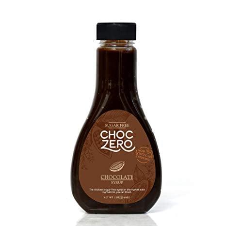 ChocZero's Keto Chocolate Sugar-Free Syrup. Low Carb (1 Gram Net Carb), No Sugar, No Preservatives, No Sugar Alcohols. Thick and Rich Sauce