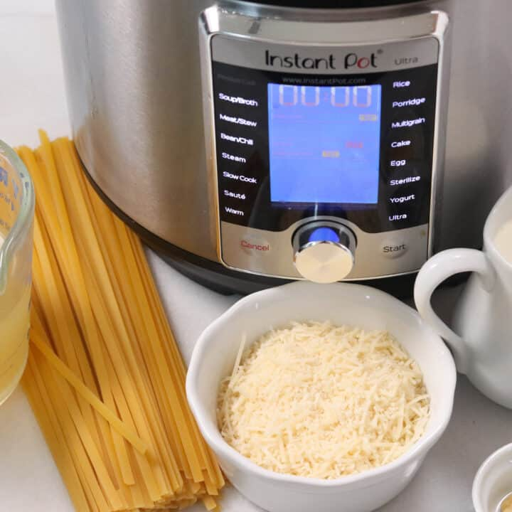 alfredo instant pot ingredients