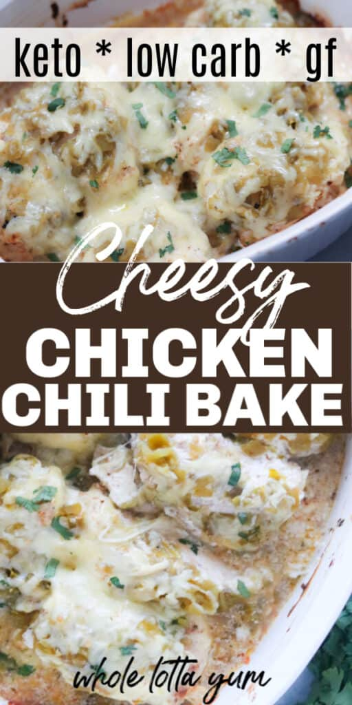 Keto chicken bake