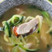 keto chicken noodle soup