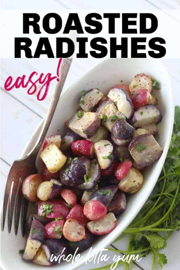 roasted radishes keto