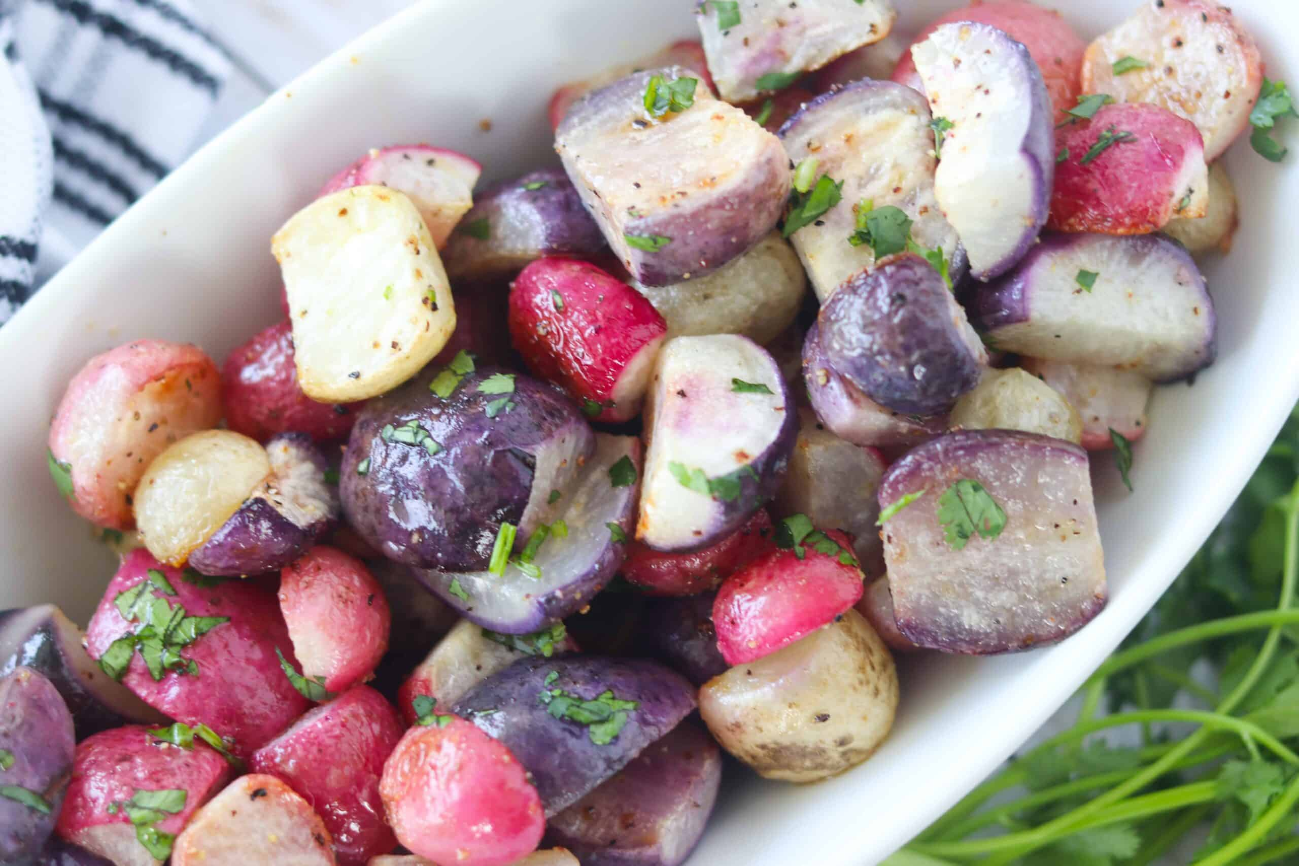 roasted radishes keto