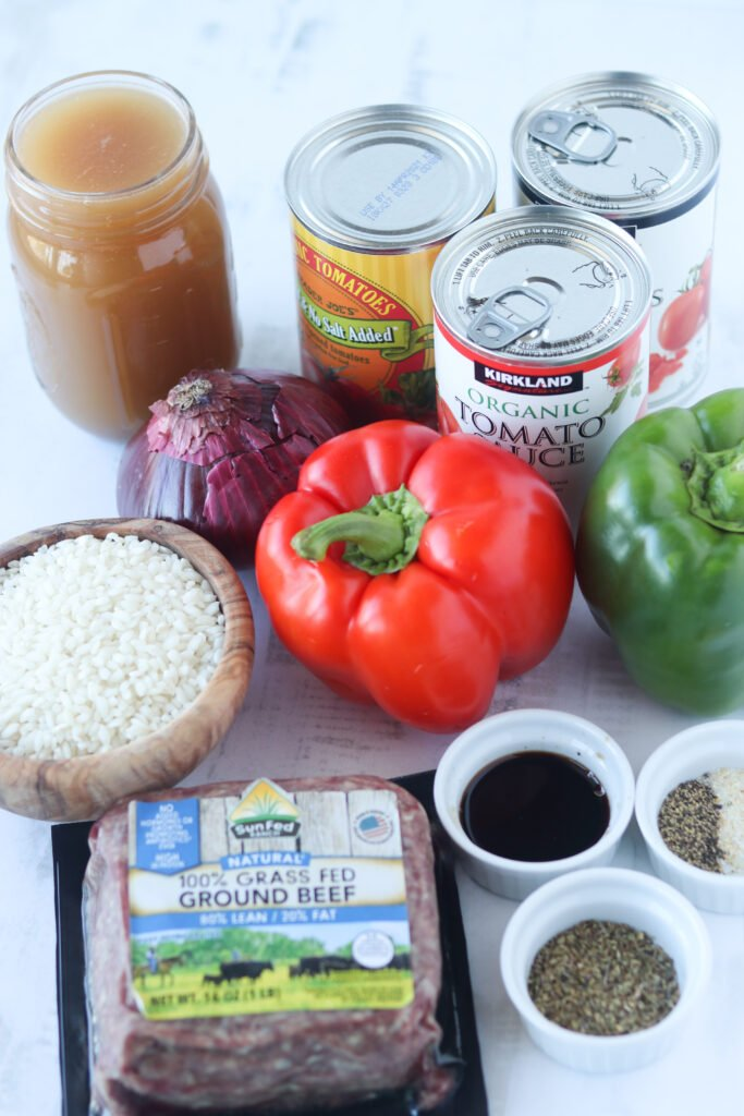 stuffed peppers soup ingredients