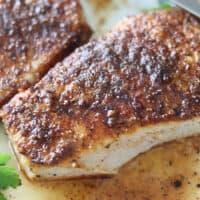 Juicy Air Fryer Pork Chops with Rub