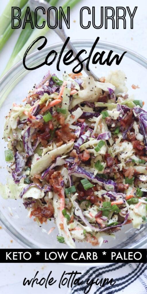 Keto coleslaw recipe