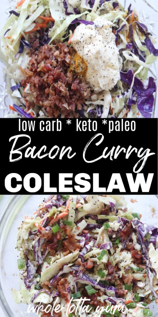 low carb coleslaw