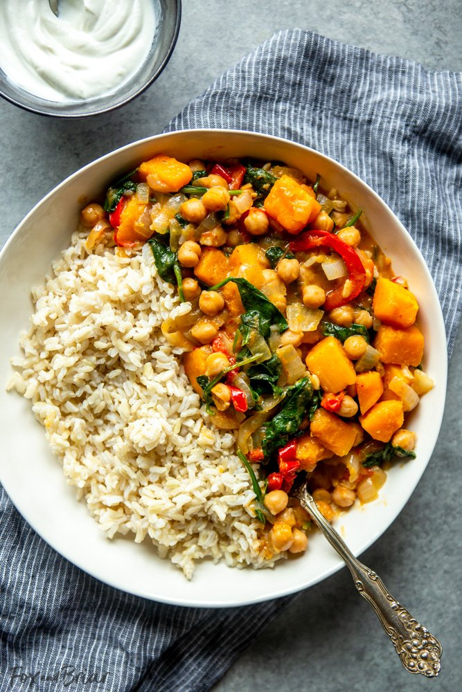 Easy Chickpea Curry - Healthy Meal Prep Idea