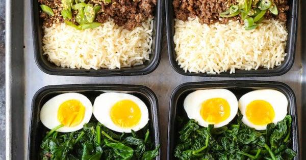 Korean Beef Bowl Meal Prep