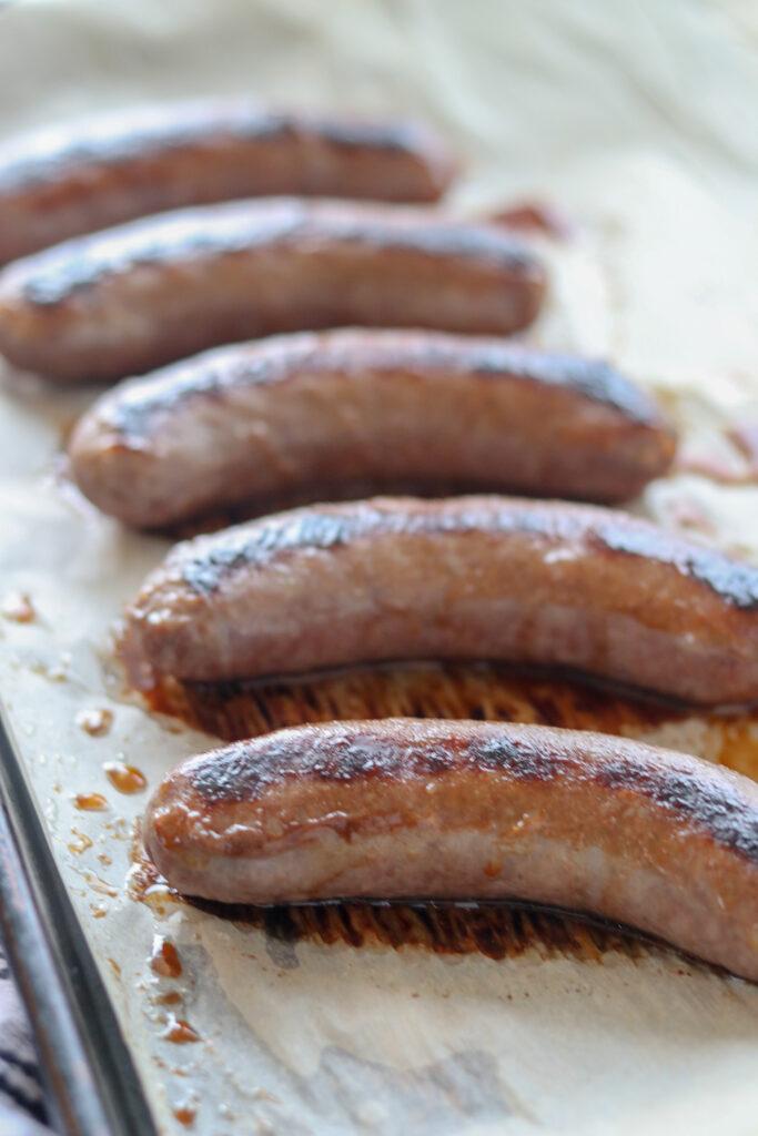 bratwurst oven