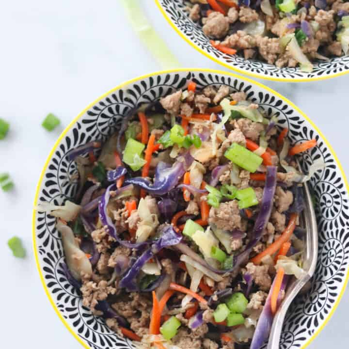 Egg Roll in a Bowl (Weight Watchers Approved)
