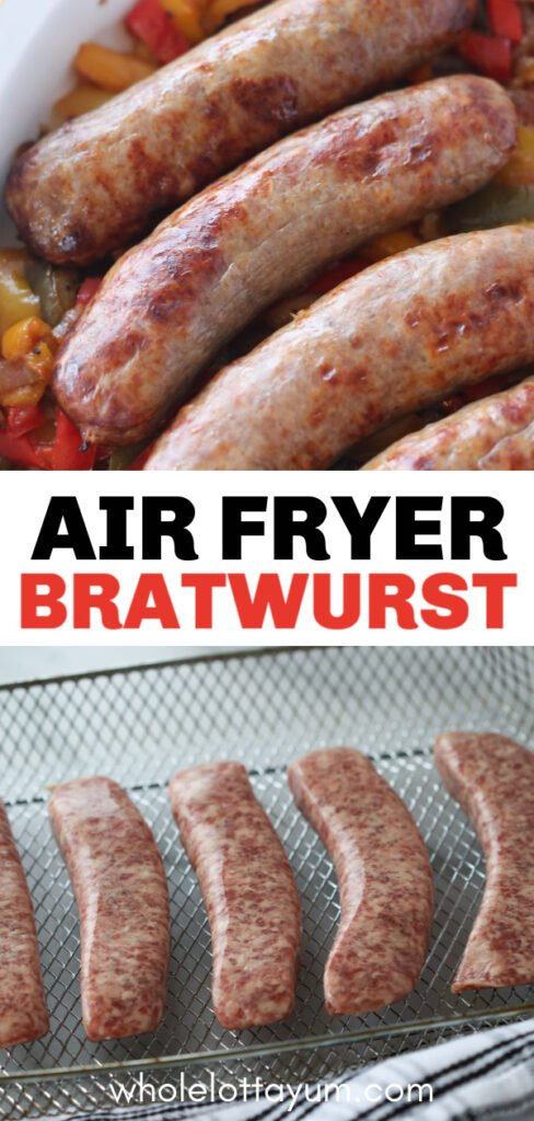 easy air fryer bratwurst recipe