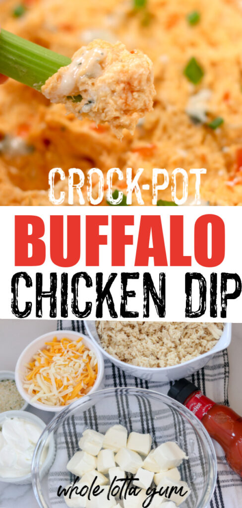 easy crock pot buffalo chicken dip recipe