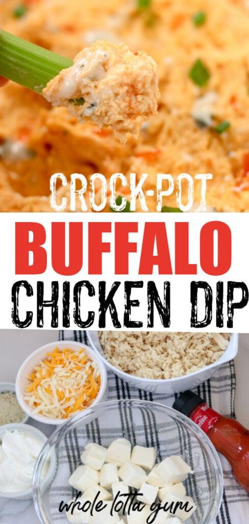 easy crock pot buffalo chicken dip recipe