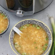 zero carb egg drop soup