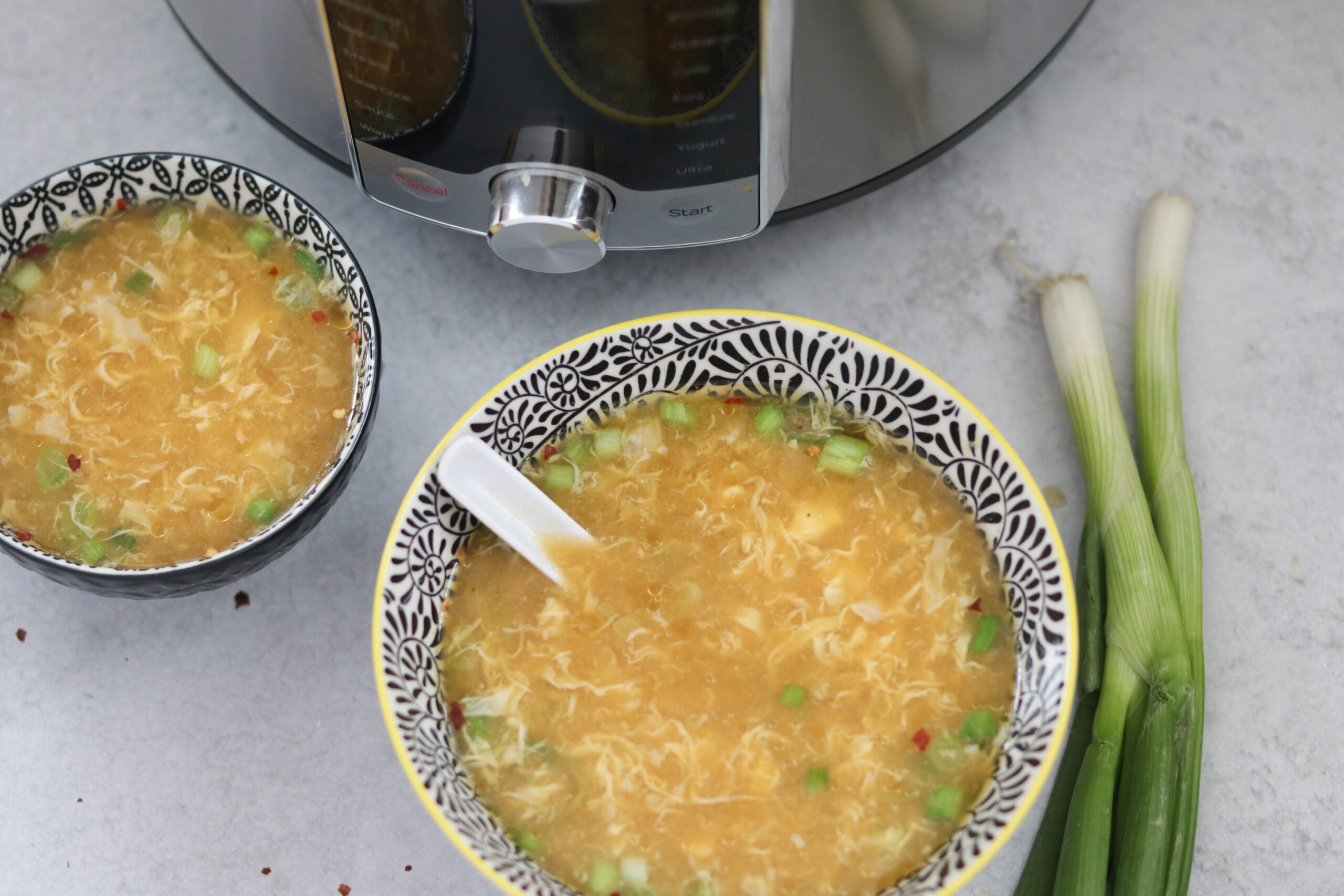 instant pot egg drop soup