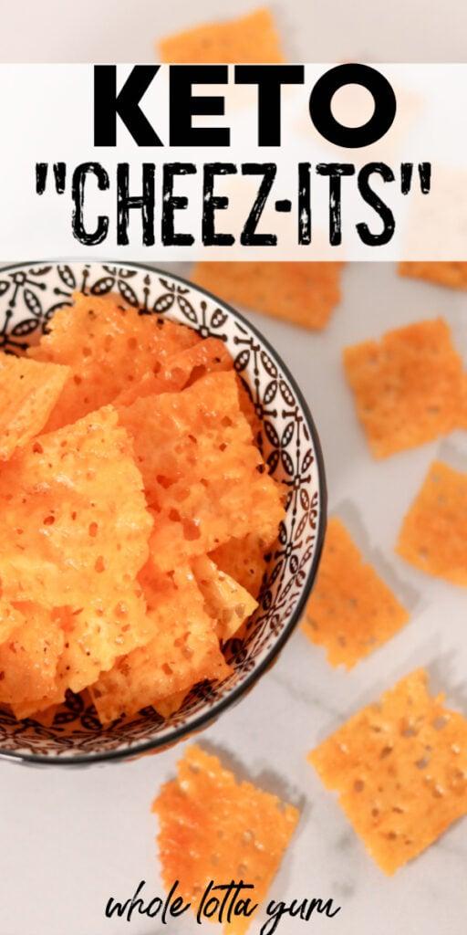 keto cheese crackers pinterest
