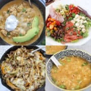 keto diet recipes for beginners collage of recipes