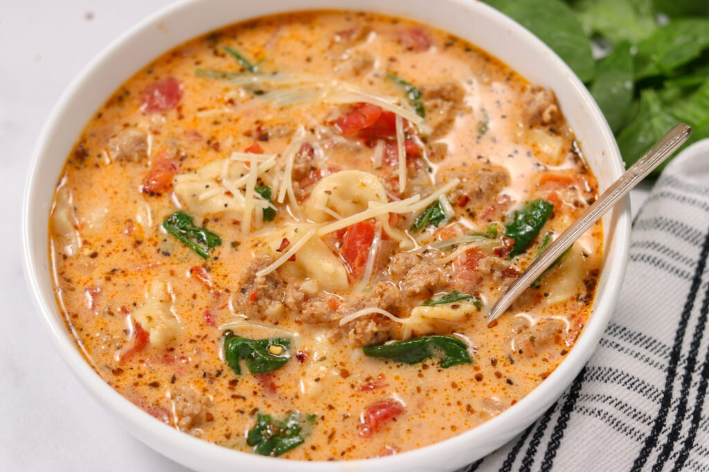 tortellini soup in crock pot