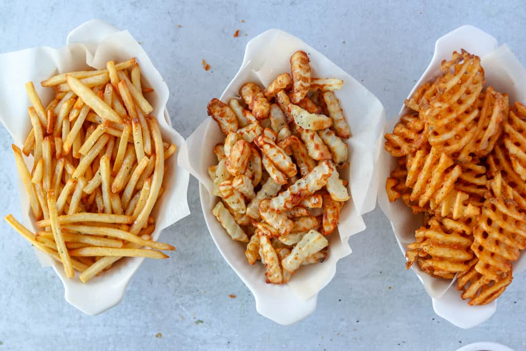 air fry frozen fries