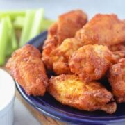 air fryer frozen chicken wings