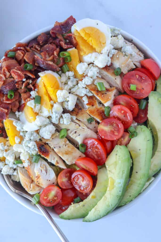 carbs in cobb salad