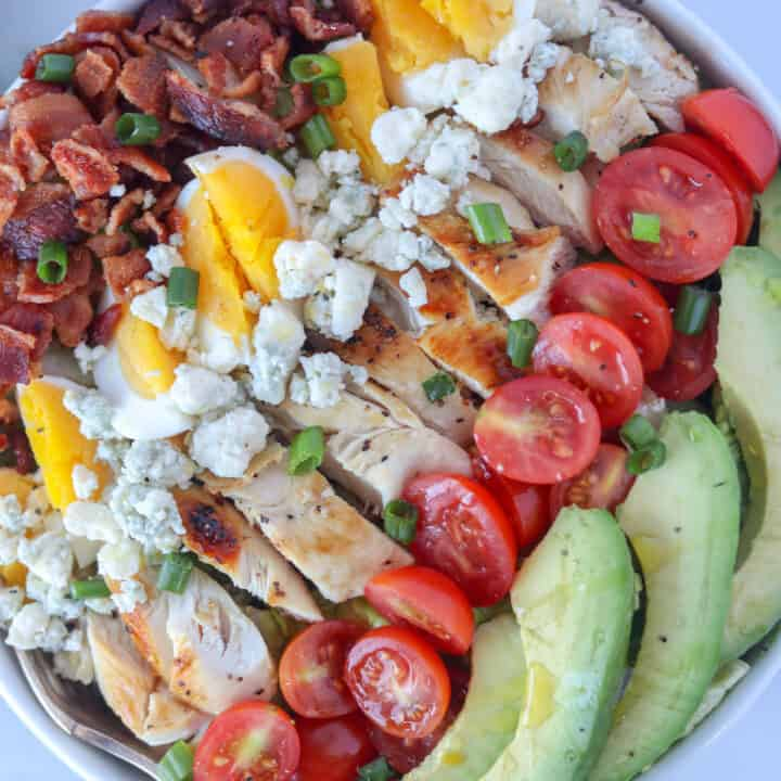 The BEST Keto Cobb Salad Recipe