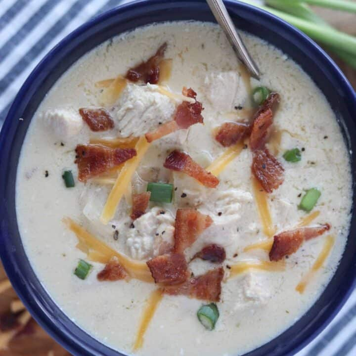 Chicken Bacon Ranch Soup (Crack Chicken Soup)