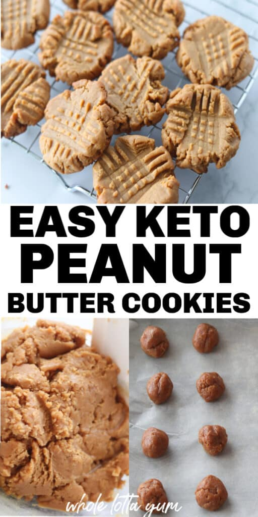 easy keto peanut butter cookies swerve