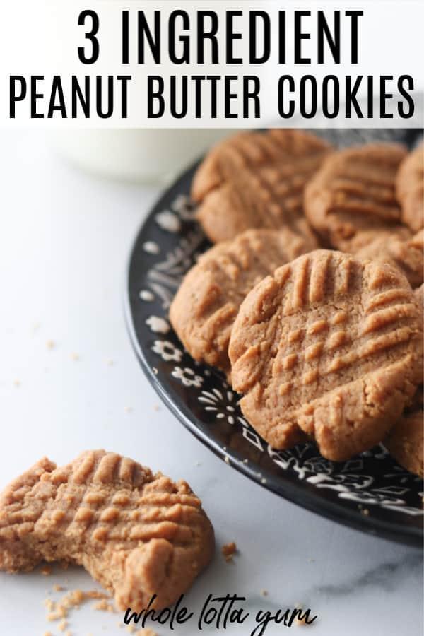 gf peanut butter cookies