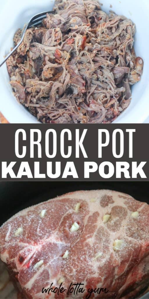 hawaiian pulled pork crockpot
