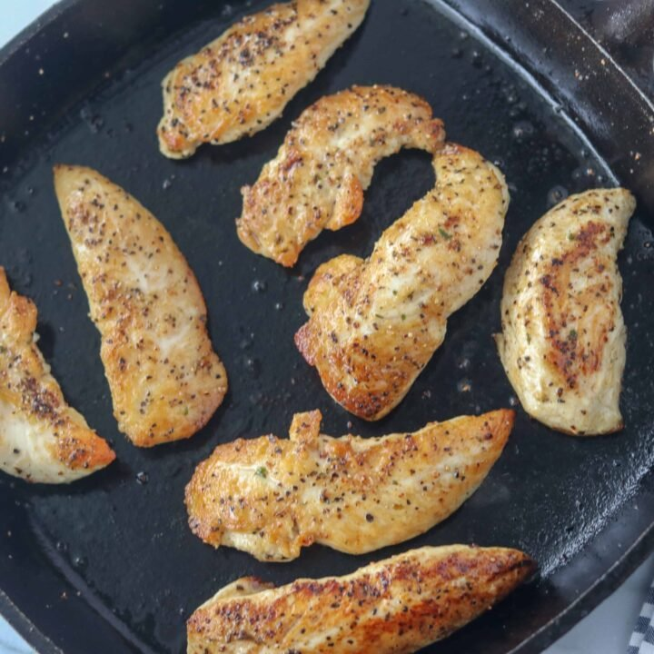 pan fried chicken tenders