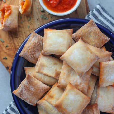 The BEST Pizza Rolls in Air Fryer