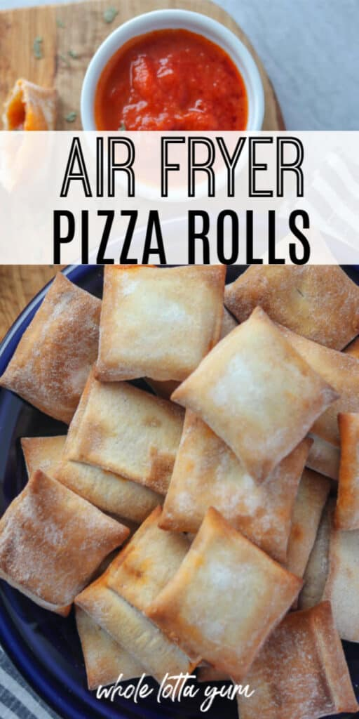 pizza rolls in the air fryer
