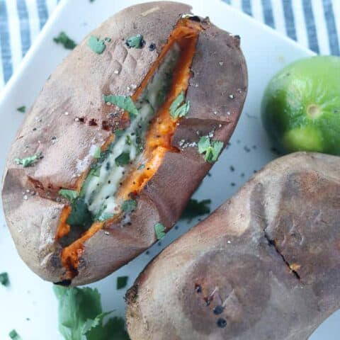 Sweet Potatoes in Air Fryer