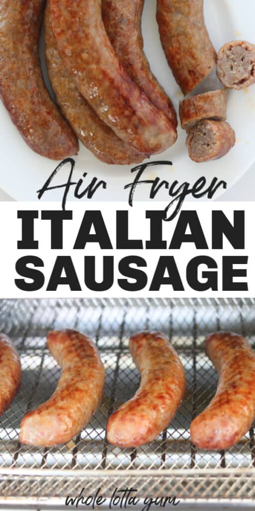 italian sausage in an air fryer