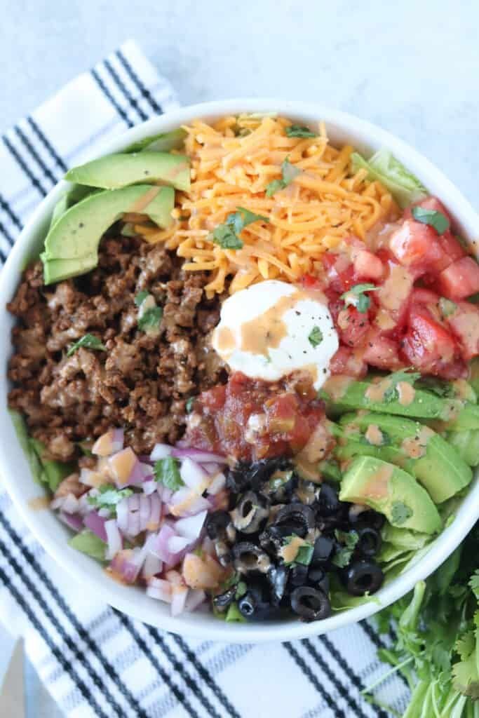 taco salad keto