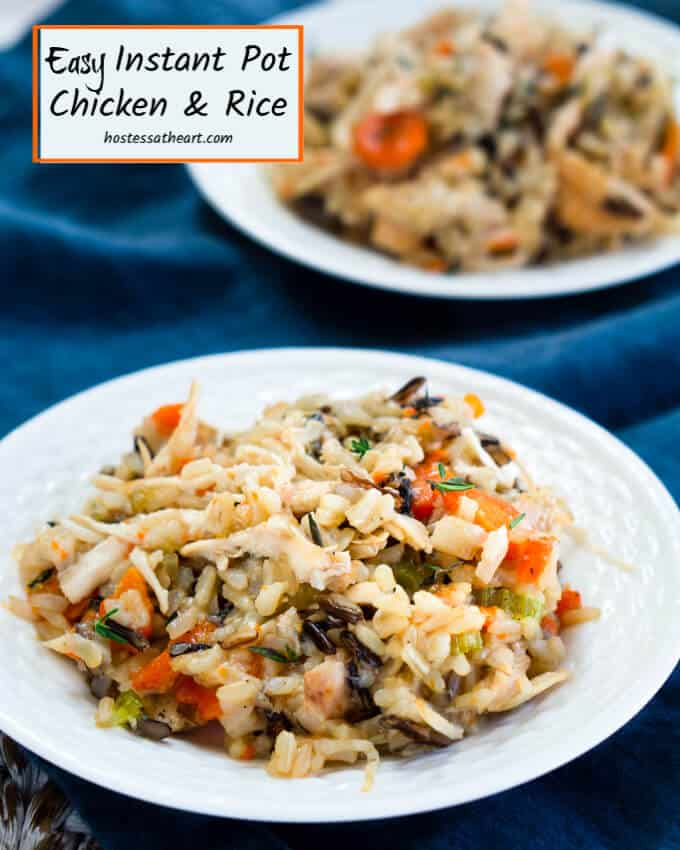 instapot chicken and rice recipe