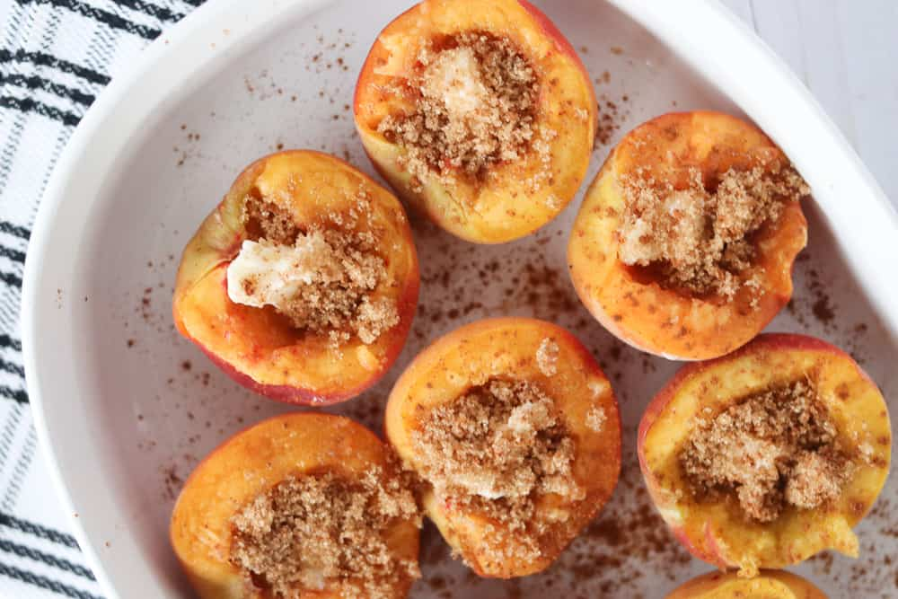 baked peaches recipe