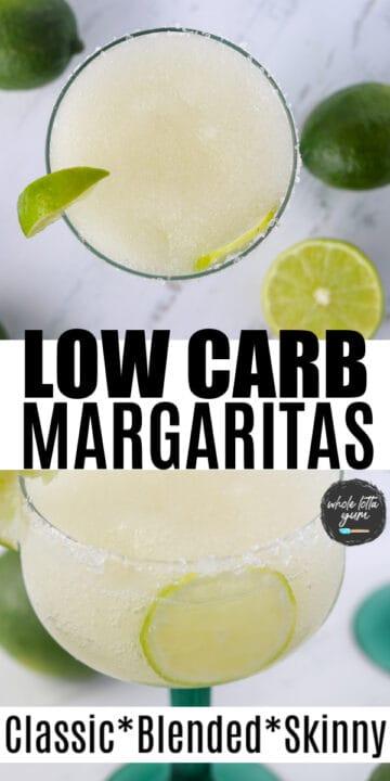 carbs in a margarita